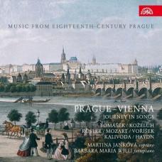 布拉格-維也納:歌曲之旅 馬丁娜·揚科娃 女高音 / Martina Jankova / Prague – Vienna: Journey in Songs