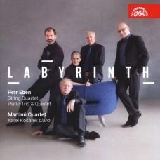 彼得·埃本:迷宮 馬替奴四重奏  / Martinu Quartet / Petr Eben: Labyrinth