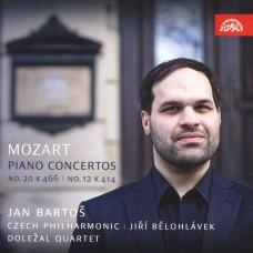 莫札特:鋼琴協奏曲12&20號 楊.巴托斯 鋼琴 / 0099925423421