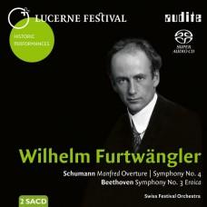 (SACD) 琉森音樂節歷史名演 Vol.12 福特萬格勒 舒曼:第4號/貝多芬:第3號交響曲 / Lucerne Festival Historic Performances Vol. XII Furtwangler / Schumann & Beethoven