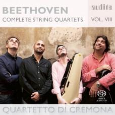 (SACD) 貝多芬:弦樂四重奏 第八集 克雷莫納弦樂四重奏 / Quartetto di Cremona / Beethoven: Complete String Quartets - Vol. 8