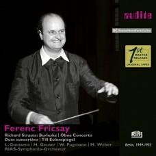 理查史特勞斯: 鋼琴及雙簧管協奏曲 費倫茨.弗利柴 指揮  / Ferenc Fricsay conducts Richard Strauss