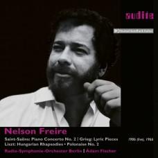 聖桑.葛利格.李斯特鋼琴作品 尼爾森.弗雷利 鋼琴 / Nelson Freire plays Saint-Saens, Grieg and Liszt