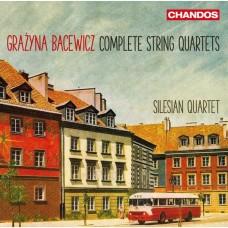 巴采維琪:弦樂四重奏 / Silesian Quartet / Bacewicz: String Quartets