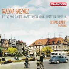 巴采維琪: 鋼琴五重奏,小提琴,大提琴四重奏 西利西亞四重奏Silesian Quartet & friends / Bacewicz: Quintets and Quartets