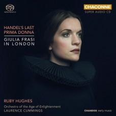 韓德爾的最後首席女高音: 茱莉亞.法來希在倫敦  路比.休斯 女高音 / Ruby Hughes / Handel's Last Prima Donna: Giulia Frasi in London