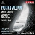 佛漢.威廉士:南極交響曲/雙鋼琴協奏曲 安德魯.戴維斯爵士 指揮 / Sir Andrew Davis / Vaughan Williams: Sinfonia Antartica, etc