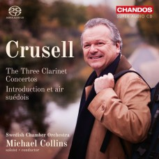 克魯塞爾: 單簧管協奏曲Op.1,5,11 麥可.柯林斯 單簧管	Michael Collins / Crusell: The Three Clarinet Concertos, etc. / Swedish Chamber Orchestra