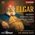 """艾爾加:法斯塔夫&管弦樂歌曲 安德魯.戴維斯指揮BBC愛樂管弦樂團 羅德利克.威廉斯 男中音 / """"Sir Andrew Davis / Elgar: Falstaff, Orchestral Songs; Grania and Diarmid """""""