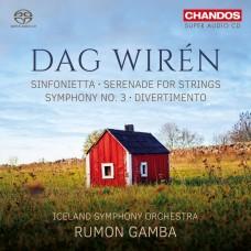 達.韋林: 第三號交響曲 / 小夜曲/嬉遊曲 魯蒙.甘巴 指揮 冰島交響樂團 / Rumon Gamba / Wirén - Symphony No.3 etc
