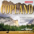 柯普蘭: 管弦作品第三集 第一號交響曲/交響舞曲/(戶外)序曲 約翰.威爾森 指揮 BBC愛樂管弦樂團  / John Wilson / Copland: Orchestral Works Vol. 3 - Symphonies