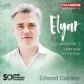 艾爾加: 第2號交響曲/弦樂小夜曲 愛德華.加德納 指揮 BBC交響樂團Edward Gardner / Elgar: Symphony No. 2 & Serenade for Strings