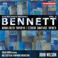 理查.羅德尼.班尼特:木琴協奏曲/第三號協奏曲 約翰.威爾森 指揮 BBC蘇格蘭交響樂團 / John Wilson / Sir Richard Rodney Bennett: Orchestral Works, Vol. 1