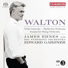 華爾頓:中提琴協奏曲/管弦樂組曲  詹姆士.艾尼斯 中提琴 加德納 指揮 BBC交響樂團James Ehnes. Edward Gardner / Walton: Viola Concerto, etc.  / BBC SO