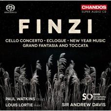 芬濟: 大提琴協奏曲,作品40 保羅.華金斯 大提琴 安德魯.戴維斯爵士 指揮Sir Andrew Davis / Finzi: Cello Concerto, Op. 40