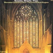 英國作曲家的合唱曲及管風琴音樂 / Cathedral Music by Sumsion, Howells, Finzi