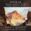 德佛札克: 弦樂四重奏與五重奏 塔卡許四重奏 / 勞倫斯.包爾 中提琴 / Takacs Quartet, Lawrence Power / Dvorak: String Quartet & String Quintet