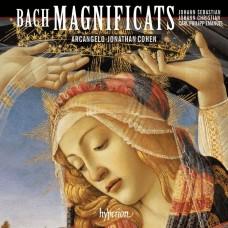 三位巴哈(J.S. & C.P.E & J.C. Bach)的聖母頌歌 阿爾坎傑羅合奏團  喬納森.柯恩 指揮 / Arcangelo & Jonathan Cohen / Bach, Bach & Bach: Magnificats