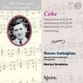 浪漫鋼琴協奏曲第73集 科克: 第3.4.5號鋼琴協奏曲 賽門.卡拉漢 鋼琴 馬汀.布拉賓斯 指揮 / Romantic Piano 73 Simon Callaghan / Coke: Piano Concertos Nos 3, 4 & 5