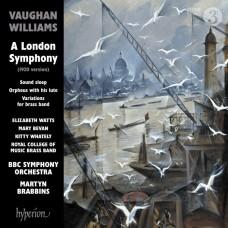 佛漢.威廉士: 倫敦交響曲及其他作品 馬汀.布拉賓斯 指揮 BBC交響樂團 / Martyn Brabbins / Vaughan Williams:A London Symphony & other works