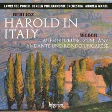 白遼士: 哈洛德在義大利及管絃樂曲 勞倫斯.包爾 中提琴 曼澤 指揮 卑爾根愛樂管弦樂團 / Berlioz: Harold in Italy & other orchestral works / Lawrence Power