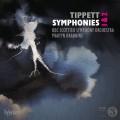 提佩特: 第一.二號交響曲 馬汀.布拉賓斯 指揮 蘇格蘭交響樂團 / Martyn Brabbins / Tippett: Symphonies Nos 1 & 2