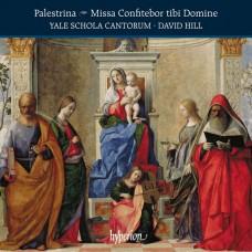 帕雷斯提納: (主啊,信徒向您告白)彌撒曲及其他宗教歌曲 大衛.希爾 指揮 耶魯聖歌合唱學校唱詩班 / Yale Schola Cantorum / Palestrina: Missa Confitebor tibi Domine & other works