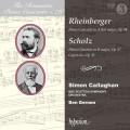 浪漫鋼琴協奏曲76 賽門.卡拉漢/萊茵伯格&修茲: 鋼琴協奏曲集 BBC蘇格蘭交響樂團 / The Romantic Piano Concerto 76 - Rheinberger & Scholz / Simon Callaghan