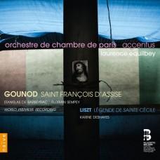 古諾/李斯特: 亞西西的方濟各, 聖塞西莉亞傳奇 羅倫斯.艾庫貝 指揮 / Laurence Equilbey / Gounod & Liszt