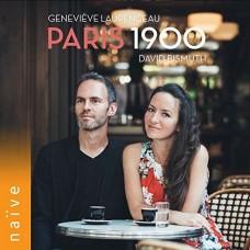 巴黎1900(20世紀法國作曲家作品) 佛瑞/皮爾納聖桑小提琴作品 吉妮耶.露芳索 小提琴 大衛.畢斯威斯 鋼琴