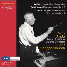 克納佩茲布許 指揮 偉伯/布拉姆斯等 科隆西德廣播交響樂團 / Hans Knappertsbusch