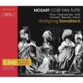 莫札特: 歌劇(女人皆如此) 沙瓦利許  指揮 巴伐利亞國家管弦樂團與國家歌劇院合唱團 / Wolfgang Sawallisch / Mozart: Così fan tutte