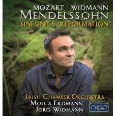 孟德爾頌:第五號交響曲(宗教改革)/黑管奏鳴曲 女高音 艾爾德嫚 愛爾蘭室內管絃樂團 約格.魏德曼 指揮 / Mendelssohn: Symphony No. 5 'Reformation'