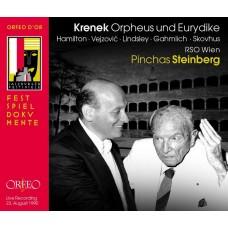 克雷內克:奧菲斯和尤麗狄絲  Pinchas Steinberg / Krenek: Orpheus und Eurydike