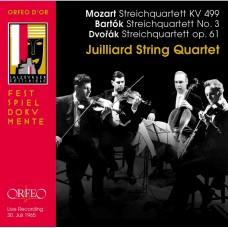 莫札特、德佛札克&巴爾托克 (茱莉亞弦樂四重奏) Juilliard String Quartet play Mozart, Dvorak & Bartok