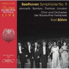 貝多芬:第九號交響曲 貝姆指揮拜魯特節慶管弦樂團暨合唱團 / Karl Böhm / Beethoven: Symphony No. 9 d-Moll op. 125 der Bayreuther Festspiele