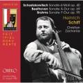 蕭士塔高維契/貝多芬/布拉姆斯: 大提琴奏鳴曲 海因里希.席夫 大提琴 / Heinrich Schiff / Shostakovich, Beethoven, Brahms