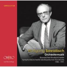 名指揮家  沙瓦利許 合唱與管弦樂大全集(8CD)Wolfgang Sawallisch / Choir and orchestra music 1980-91