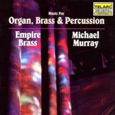 管風琴、銅管樂、敲擊樂精選 Music for Organ, Brass & Percussion