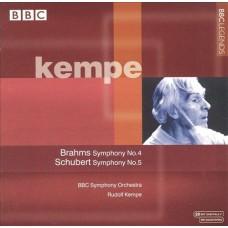 Kempe - Brahms Symphony No.4 / Schubert Symphony No.5 布拉姆斯:《第4號交響曲》/舒伯特:《第5號交響曲》
