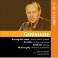 穆索斯基:展覽會之畫 Mussorgsky-Rimsky-Korsakov-Scriabin-Balakirev/Goossens