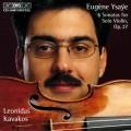 易沙意:六首小提琴奏鳴曲 Ysaye:Six Sonatas for solo violin Op. 27