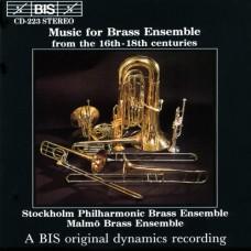 16-18世紀銅管合奏團作品集 Music for Brass Ensemble from the 16th - 18th centuries