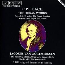 CPE巴哈:管風琴作品 C.P.E. Bach:The Organ Works