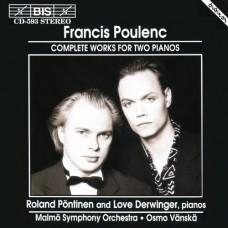 普朗克:雙鋼琴作品全集 Poulenc:The Music For Two Pianos