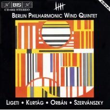 匈牙利木管五重奏音樂 Hungarian Music for Wind Quintet