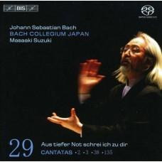 巴哈:清唱劇第29集 - BWV 2, 3, 38 & 135 Bach:Cantatas Vol.29 - BWV 2, 3, 38 & 135