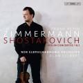 蕭士塔高維契:第一、二號小提琴協奏曲(齊瑪曼, 小提琴) Shostakovich:Violin Concertos Nos 1 & 2 (Zimmermann, violin)