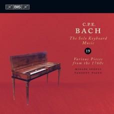 C.P.E.巴赫:單人鍵盤音樂,第19卷C.P.E. Bach - Solo Keyboard Music, Vol.19
