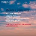三位20世紀美國作曲家交響曲集 蘭斯.弗里德爾 指揮 倫敦交響樂團Lance Friedel & LSO / Three American composers – three 20th-century symphonies